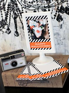 OMG!  I love this!!   Preserve Party Memories - 21 Halloween Party Favor and Treat Bag Ideas on HGTV
