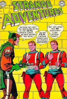 Interplanetary Police - Duplicate - Captain Comet - Dc - Superman
