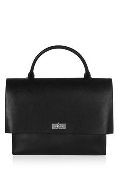 0b4fa0adf08 Givenchy   Medium Shark bag in black leather New Pins, Black Suede, Black  Leather