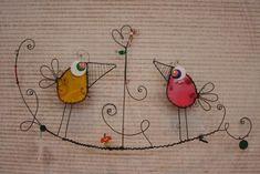 Nice diy metal projects ideas Worn By・ Wire Crafts, Metal Crafts, Jewelry Crafts, Diy And Crafts, Arts And Crafts, Wire Ornaments, Wire Art, Beads And Wire, Wire Jewelry