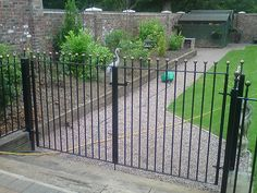 Metal gates and railings Stockport, Manchester - http://www.dhgates.co.uk/wrought-iron-gates-and-railings/