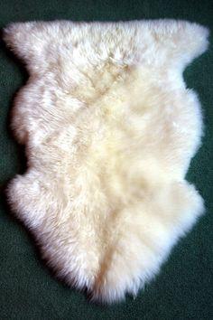 White Washable Sheepskin..the best found!
