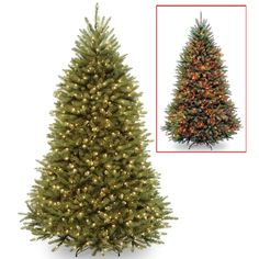 6.5 Ft Pre-Lit Powerconnect™ Dunhill® Fir Full Artificial Christmas Tree, Dual Color® Led | Michaels®