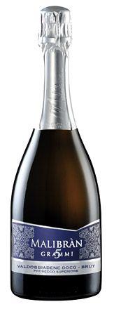 Vini prodotti dall'azienda Malibran, tra cui il Valdobbiadene D.O.C.G.
