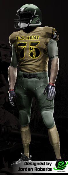 US Army Football uniform