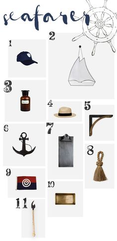 Christmas Gift Guide | Seafarer | The Society Inc by Sibella Court
