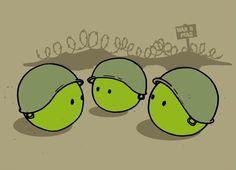 Make peas not war - Happy drawings :)
