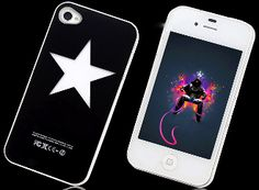 LED Color Changing Star iPhone 4 Case now only $4.95 ! ( reg 10.95).