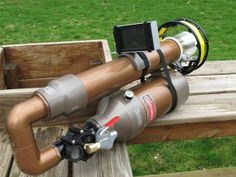 The World's First Pneumatic Cannon with Android-Powered Scope