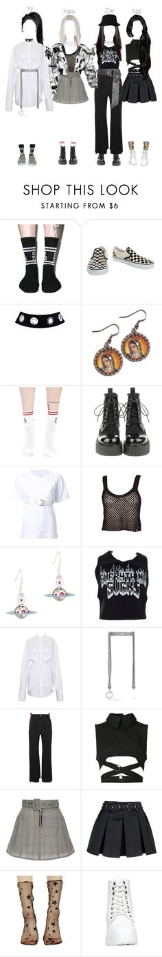 """""""Input Special Concert in China"""" by npentertainment ❤ liked on Polyvore featuring Lazy Oaf, Vans, Yeah Bunny, Sacai, Vivienne Westwood, Kill Star, Balenciaga, Vetements, Ann Demeulemeester and Sandy Liang"""