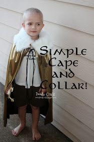 Doodlecraft: Super Hero Gathered Cape!