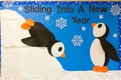 penguin bulletin board ideas for teachers | Winter Bulletin Board 2012 | Hand-Me-Down Ideas