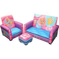 Sofa Chair For Baby Girl Rowe Carmel Slipcover Replacement 951 Best Toddler Images Toys Nickelodeon Bubble Guppies That S Silly 3 Piece And Ottoman Set