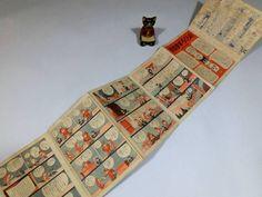 戦前◆『のらくろ』+『冒険ダン吉』折本漫画◆田川水泡島田啓三_画像1