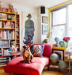 Funky Decor, Retro Home Decor, Cheap Home Decor, Eclectic Design, Eclectic Decor, Eclectic Style, Eclectic Bedrooms, Eclectic Modern, Cozy Eclectic Living Room