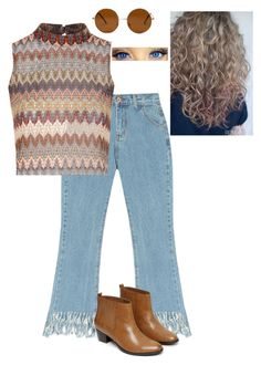 """""""That 70s Show"""" by kailynbouche on Polyvore featuring Chicnova Fashion, Glamorous, Warehouse, Forever 21, women's clothing, women's fashion, women, female, woman and misses"""