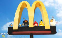McDonald's, 'Angry Birds' Partner to Create Location-Based Mobile Game