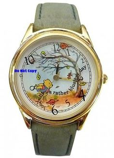 Disney Fossil Winnie The Pooh & The Blustery Day Watch