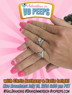 July  2014 - VO Peeps July Meetup with Chris Anthony and Katie Leigh! For more info please visit vopeeps.com. #NailBranding #BrandImmersion