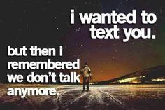 Wanted to text you