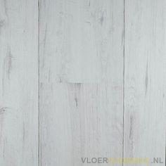 Slaapkamer GAMMA Ambiance laminaat met V-groef wit eiken 2,25 m² ...