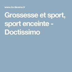 Grossesseet sport, sport enceinte - Doctissimo