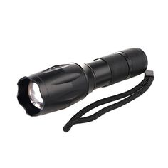 NOPTEG LED Tactical Flashlight, Zoomable Adjustable Focus, 1000 Lumens XML T6 LED Outdoor Water Resistant Handheld Flashlight Torch for Camping Hiking *** You can find out more details at the link of the image.