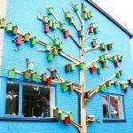 Danish Street Art Project Has Built Over 3,500 Urban Bird Houses Since 2006