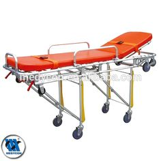 BDST202patient transfer adjustable hospital aluminum patient trolleys
