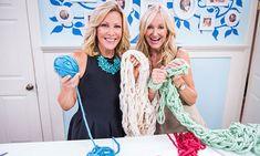 Arm Knitting with Kym Douglas   Home & Family   Hallmark Channel