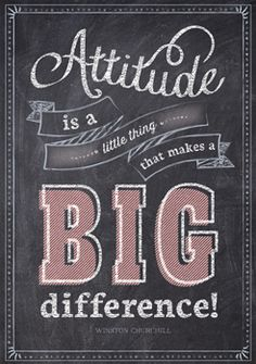 Attitude is a little thing… Inspire U Poster by Creative Teaching Press. NEW Inspirational posters