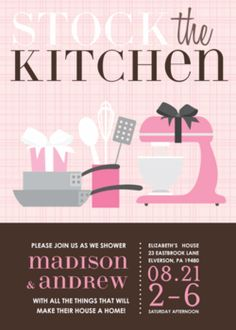 Types of bridal showers I want linens!