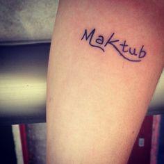 #tattoo #tatuagem #maktub #estavaescrito #vibe #india