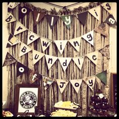 Starbucks baby shower