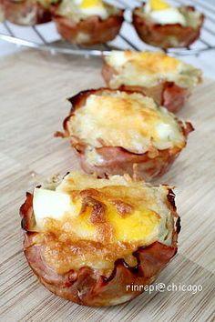 Ham, Egg & Potato Muffin ハムエッグポテトマフィン