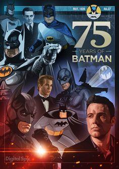 75 aniversario de Batman – Cartel conmemorativo