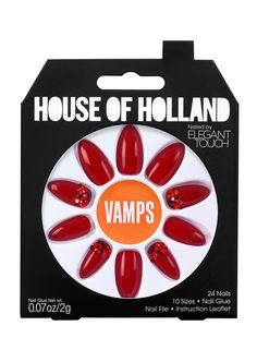 House of Holland Vamps nails! Love them!