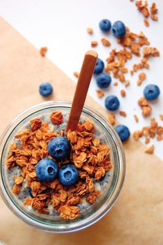 Great for busy mornings, this recipe for Blueberry Pie Overnight Oats is a great on-the-go breakfast idea that your family is sure to enjoy!
