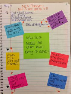 My Adventures Teaching Junior High English: First days of Interactive Notebooks