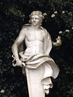 Classical statue in