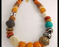 Mezclado de Handforged colgante antiguo por sandrawebsterjewelry