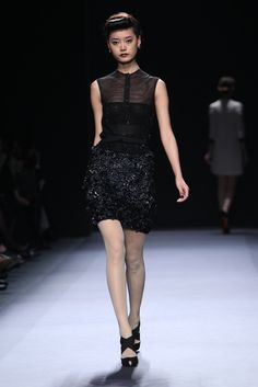 Love that skirt and blouse! Jenny Packham RTW Fall 2012