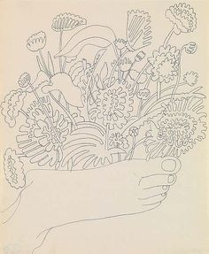 Andy Warhol, Foot with Flowers