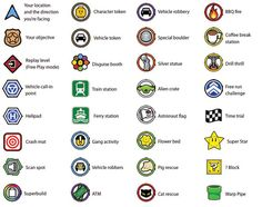 Video Game Symbols, Crash Mat, Art N Craft, Train Station, Lego, Party, Parties, Legos