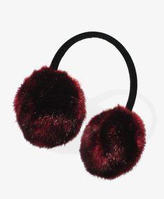 Velvet Faux Fur Earmuffs   FOREVER21 - 1027704735