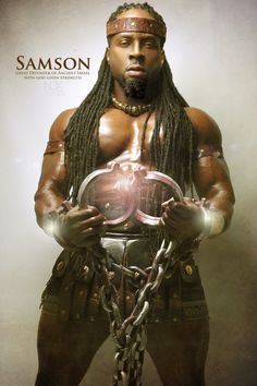 """Samson ~Noire Icons of the Bible by James C. Lewis, International Photographer ~ """"How might Biblical characters really look? Blacks In The Bible, African Mythology, Black Royalty, Black Art Pictures, Black Jesus Pictures, Amazing Pictures, African Royalty, Biblical Art, Black History Facts"""
