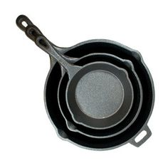 Old Mountain Iron Skillet 3Pc now featured on Fab.  This is a good price for proper cast iron.   Better seasoned than Lodge, the usual brand.