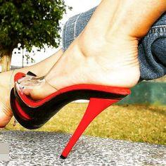 Only sexy feet Sexy Legs And Heels, Hot High Heels, Platform High Heels, High Heel Boots, Pantyhose Heels, Beautiful High Heels, Women's Feet, Stiletto Heels, Videos