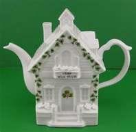 Irish cottage teapot