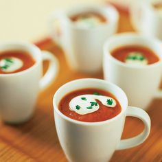 Roasted Red Pepper-Tomato Soup - Great Fresh Tomato Recipes - Sunset